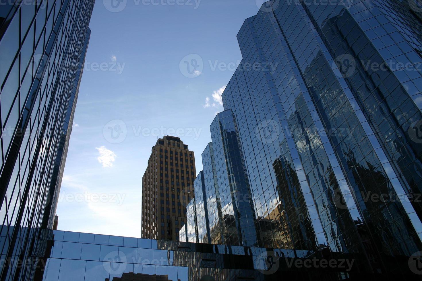 City Buildings At Morning photo