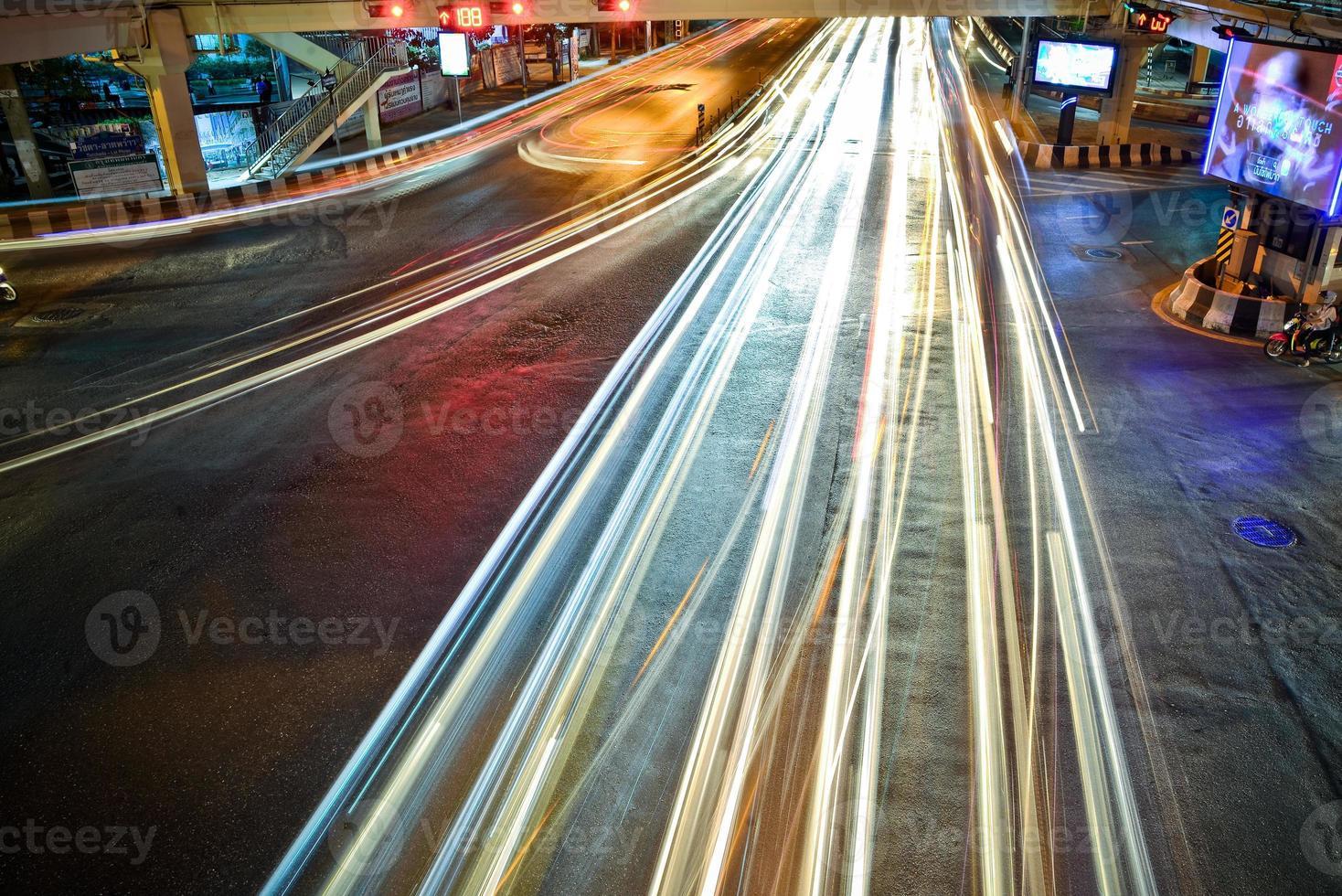 Tráfico de Bangkok foto