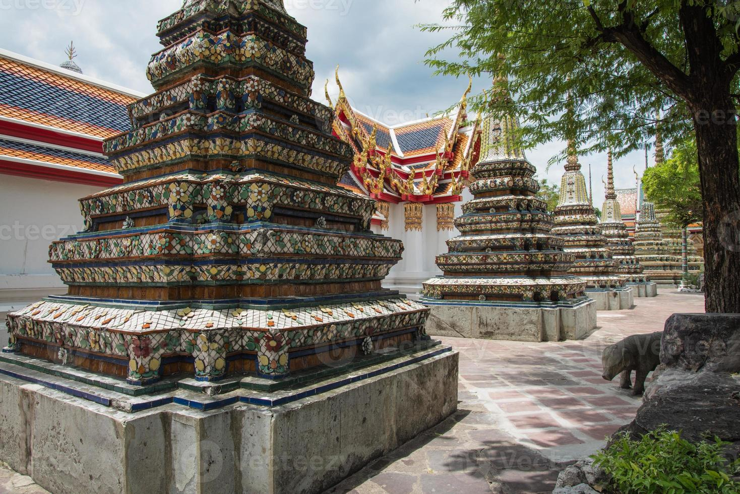 Beautiful temple in Bangkok photo
