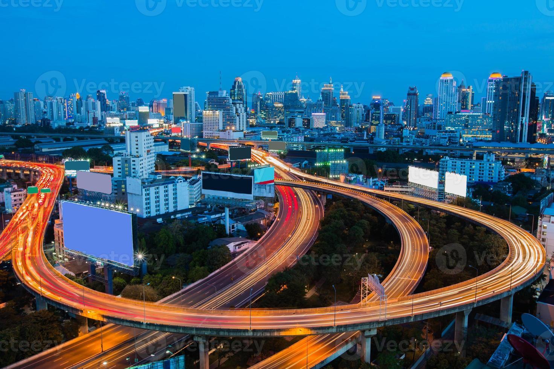 Bangkok Downtown City Skyline photo
