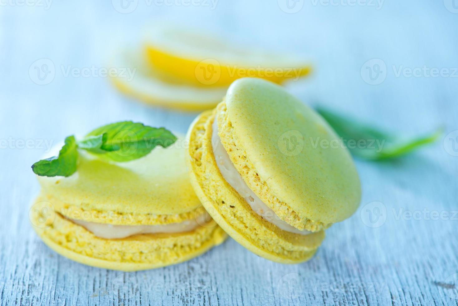macarrones de limón foto