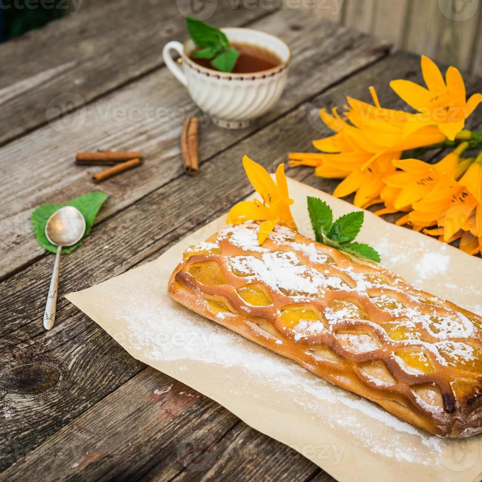 tarta de limón foto