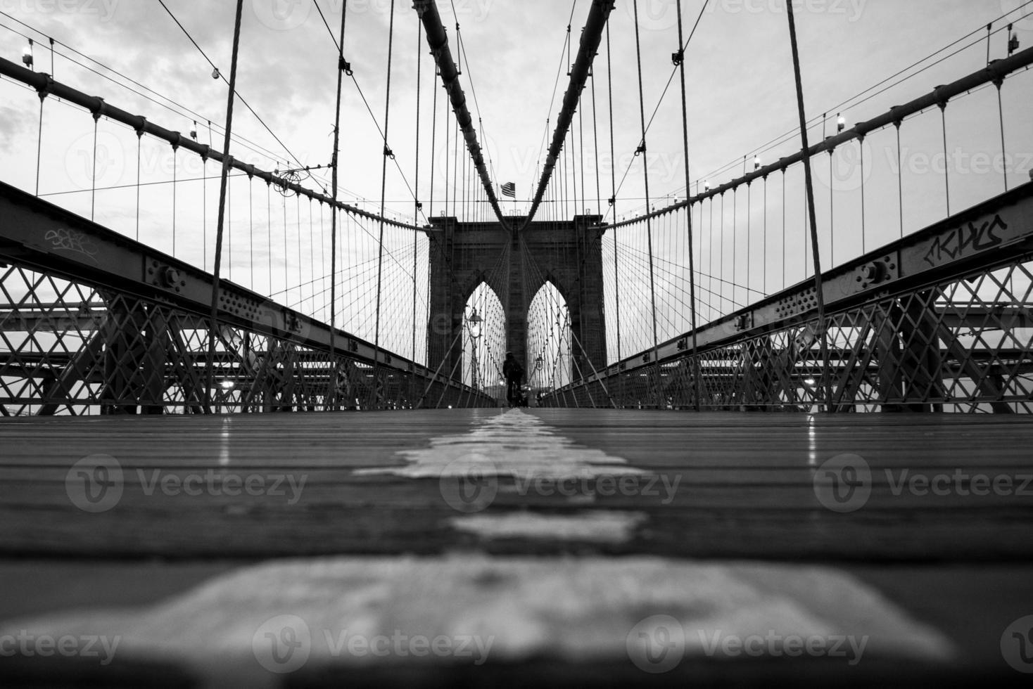 New York City Brooklyn Bridge photo