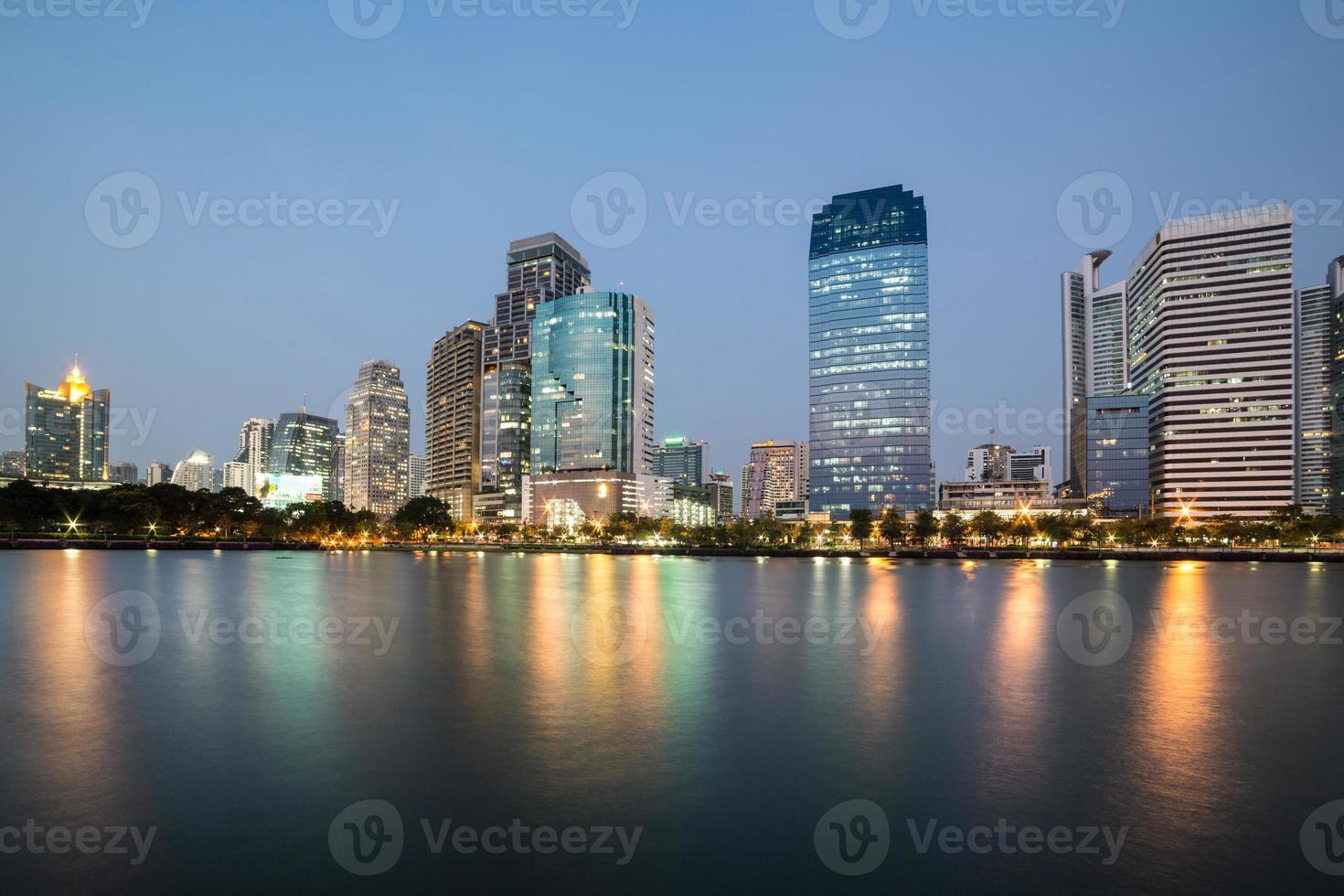 Benjakiti Park in Bangkok photo