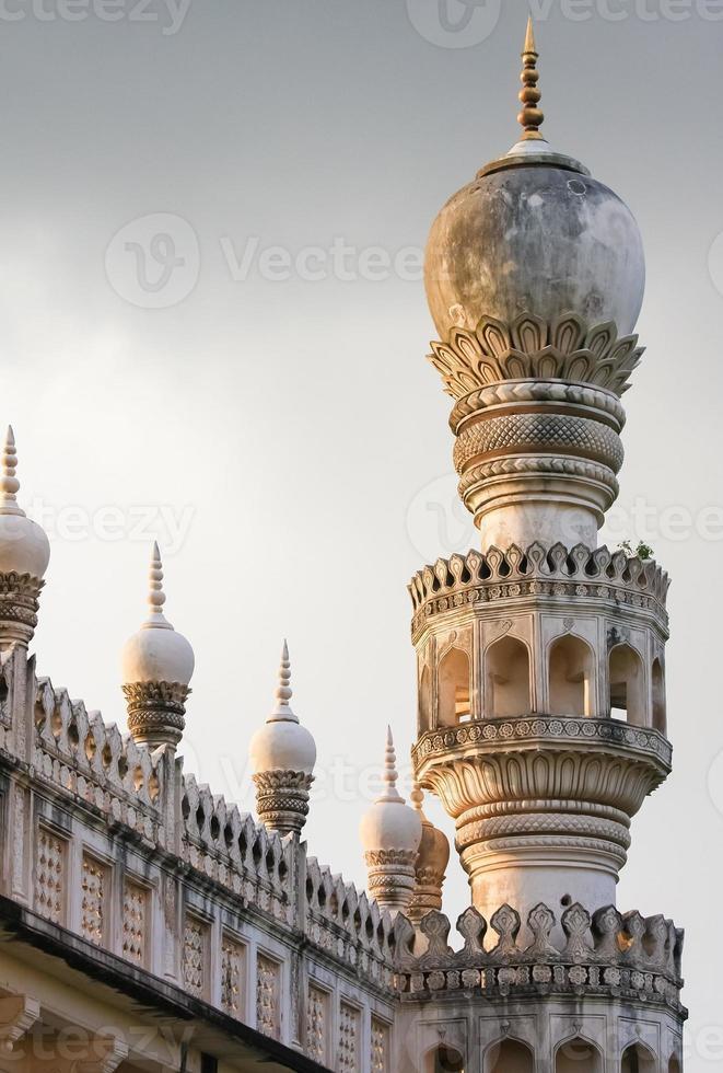 Qutb Shahi Tombs in Hyderabad, India photo