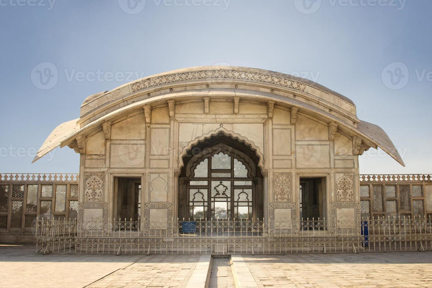 Pabellón Naulakha en la fortaleza de Lahore foto