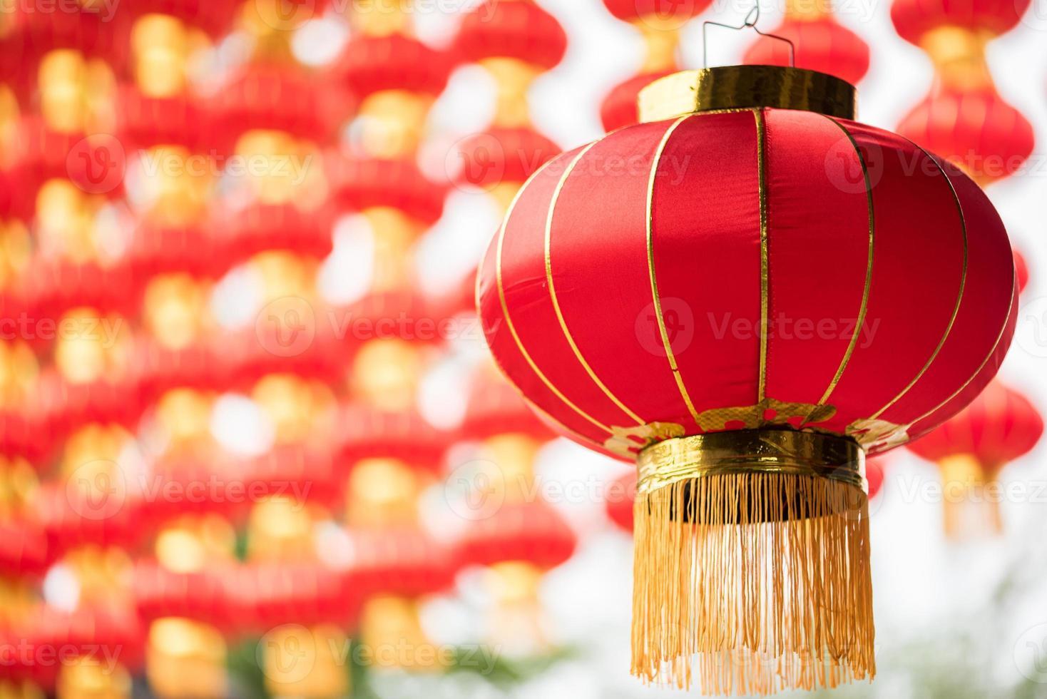 Chinese lantern closeup photo