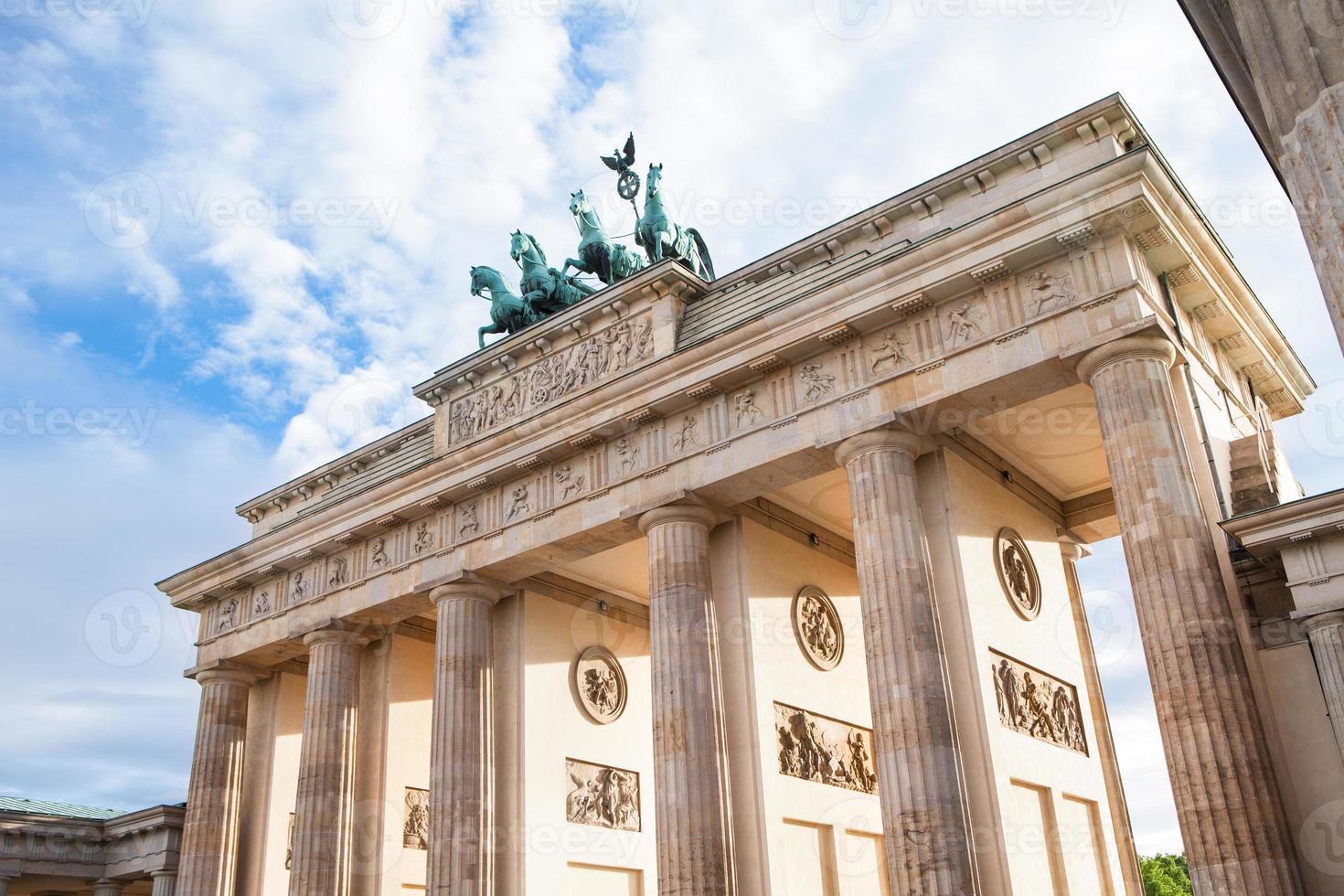Brandenburg gate in Berlin photo