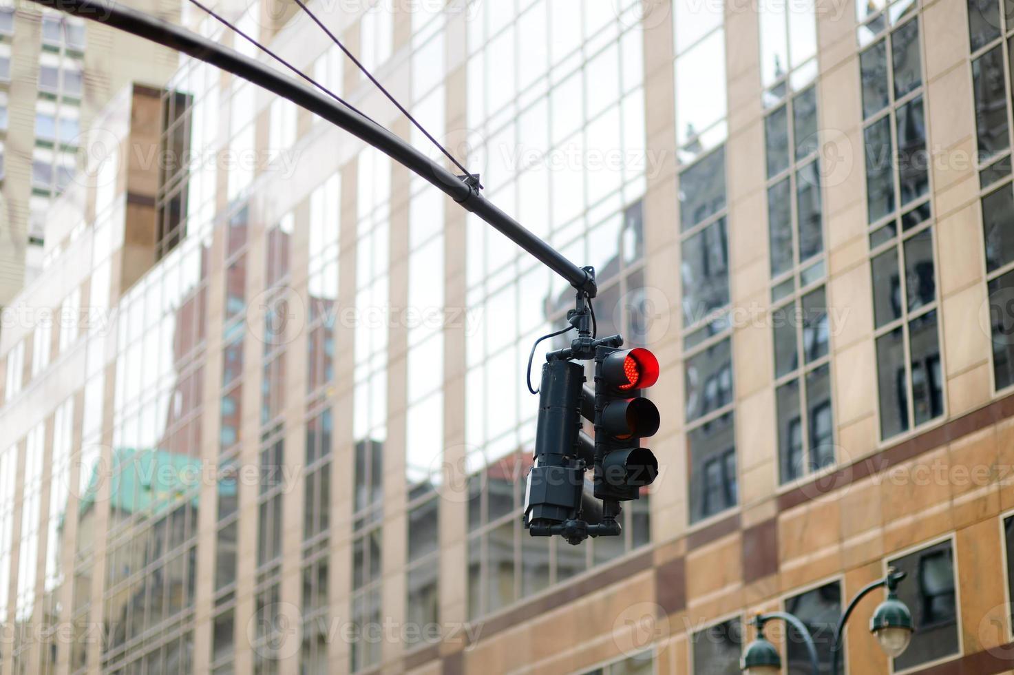 New York city traffic lights photo