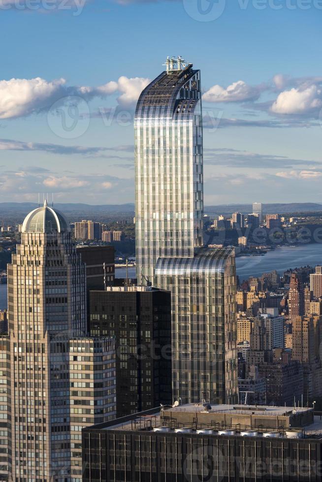 Skyline of New York City Details photo