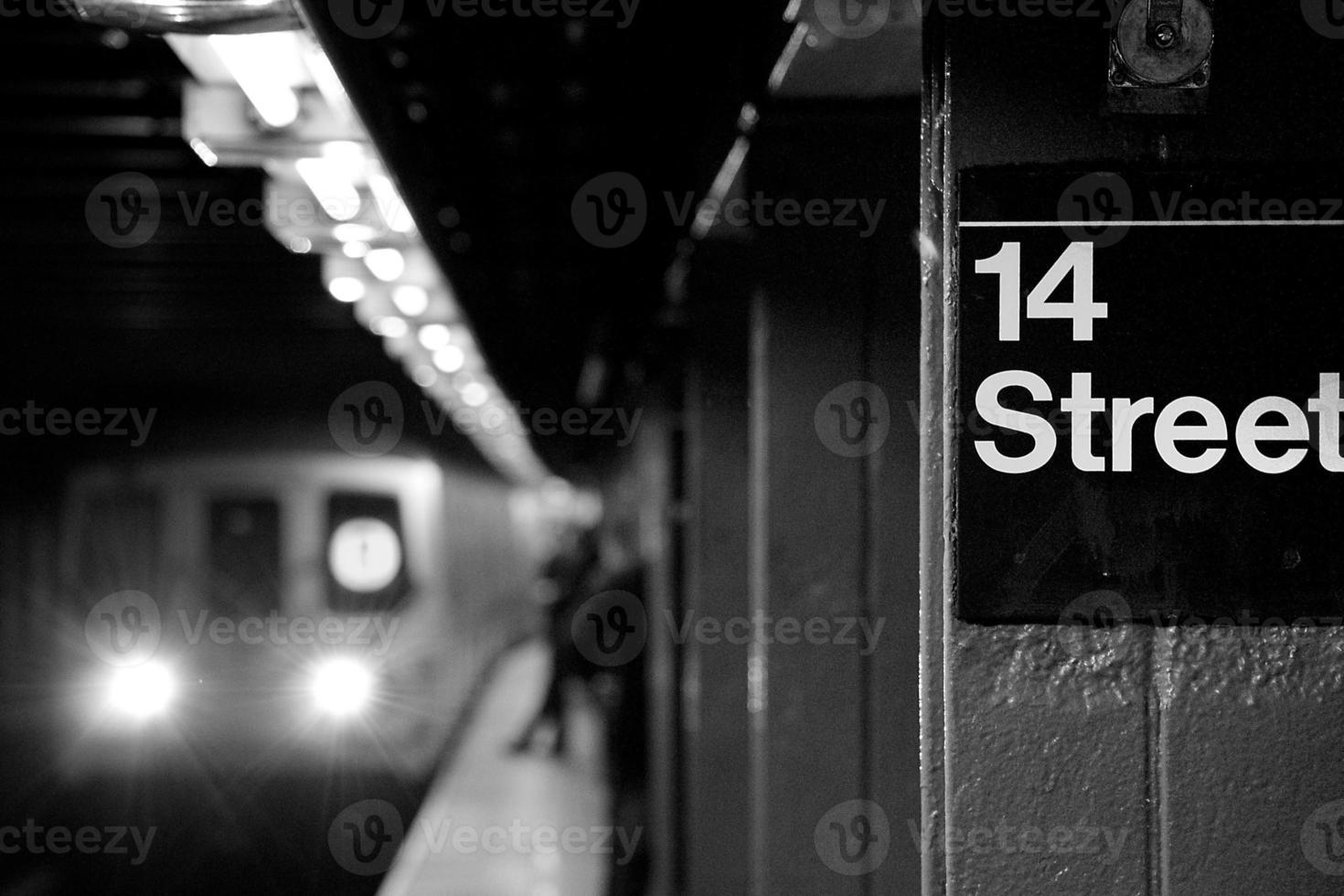 Subway station photo