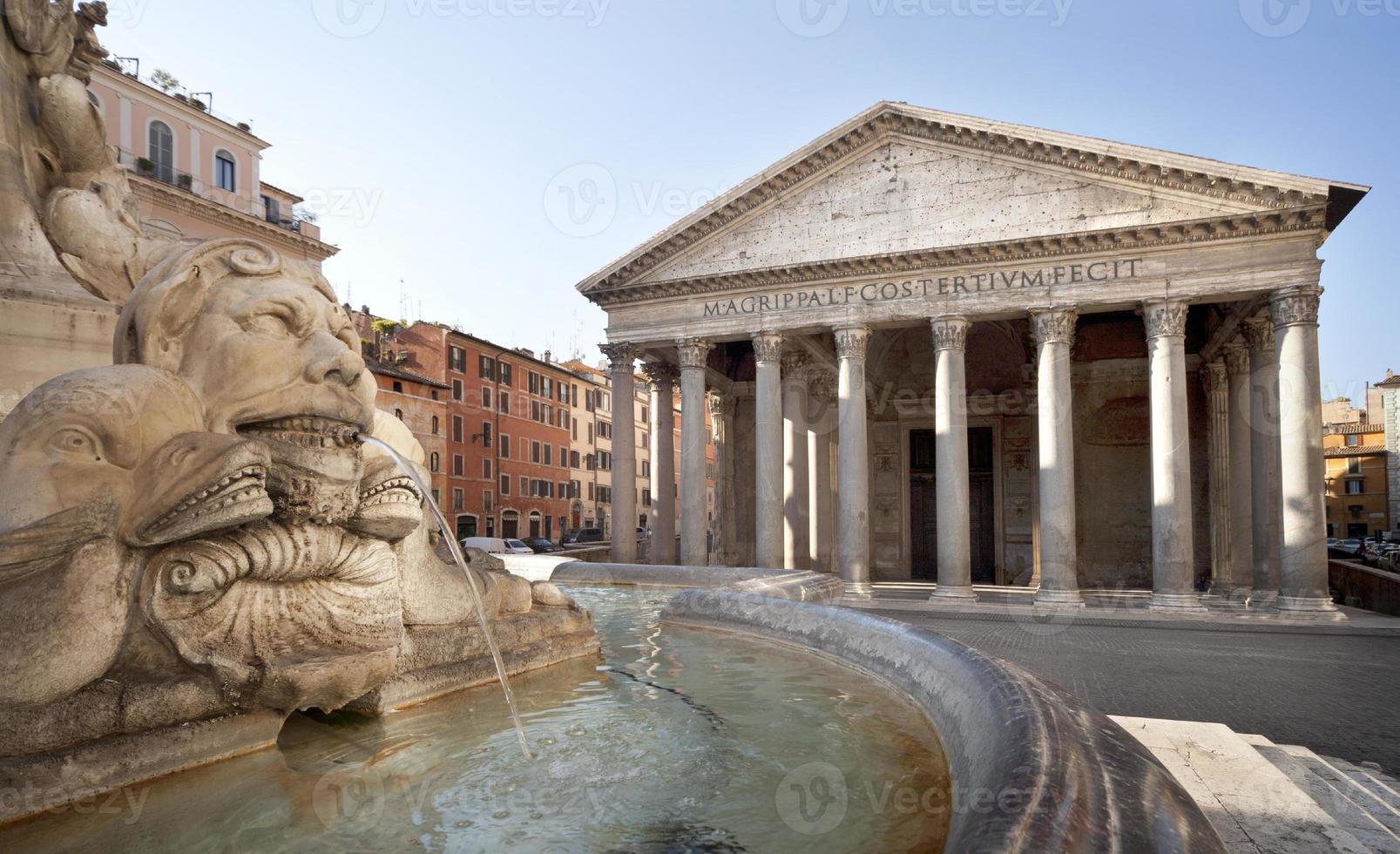 roma, panteón foto