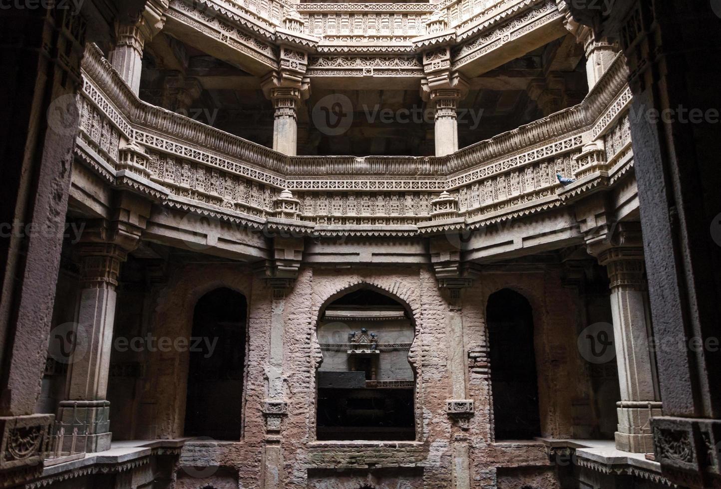 Adalaj Stepwell in Ahmedabad, Gujarat photo