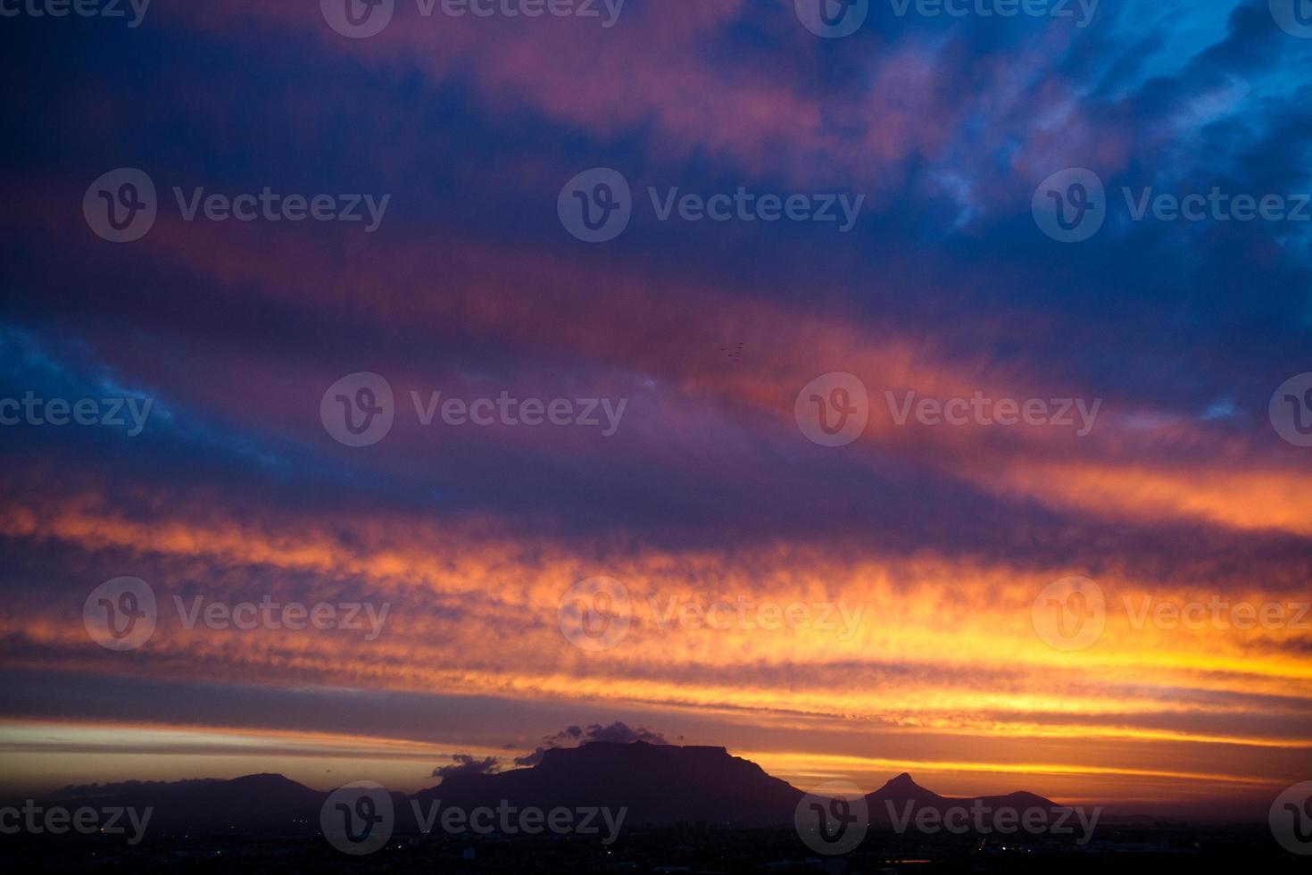 Table Mountain Sunset photo