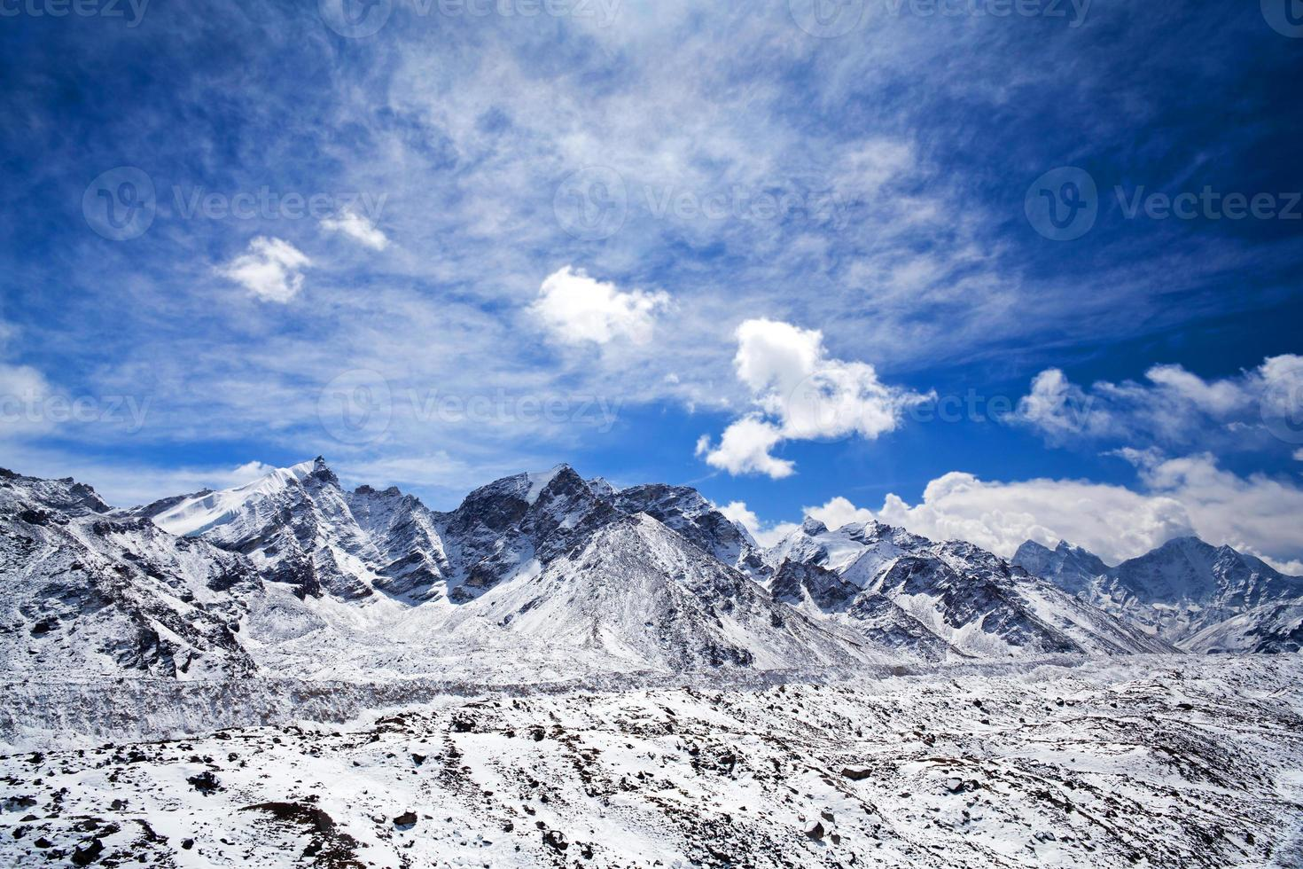 Parque Nacional Sagarmatha, Nepal Himalaya foto