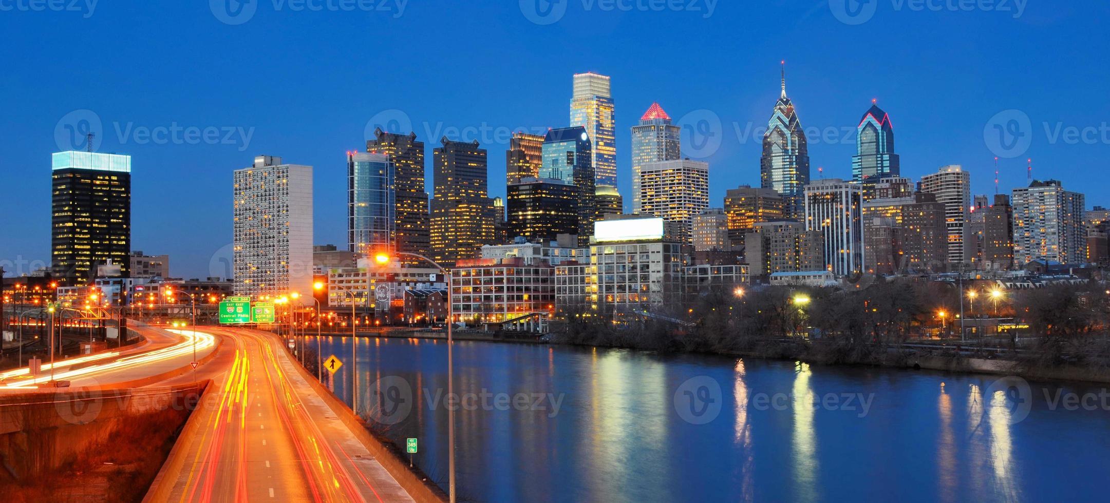 centro de la ciudad de Filadelfia foto
