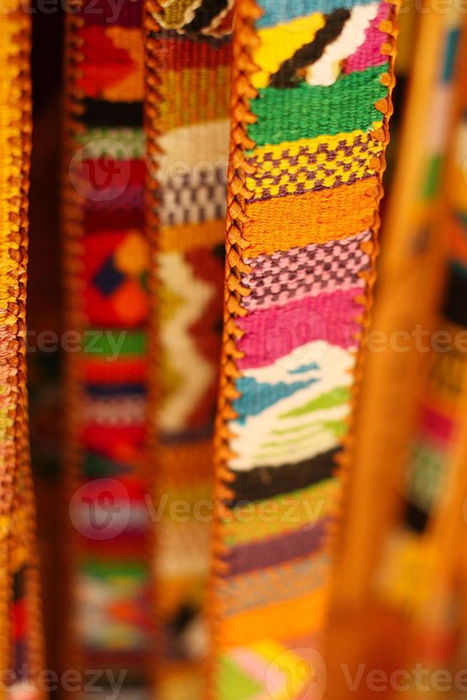 cinturones de colores foto
