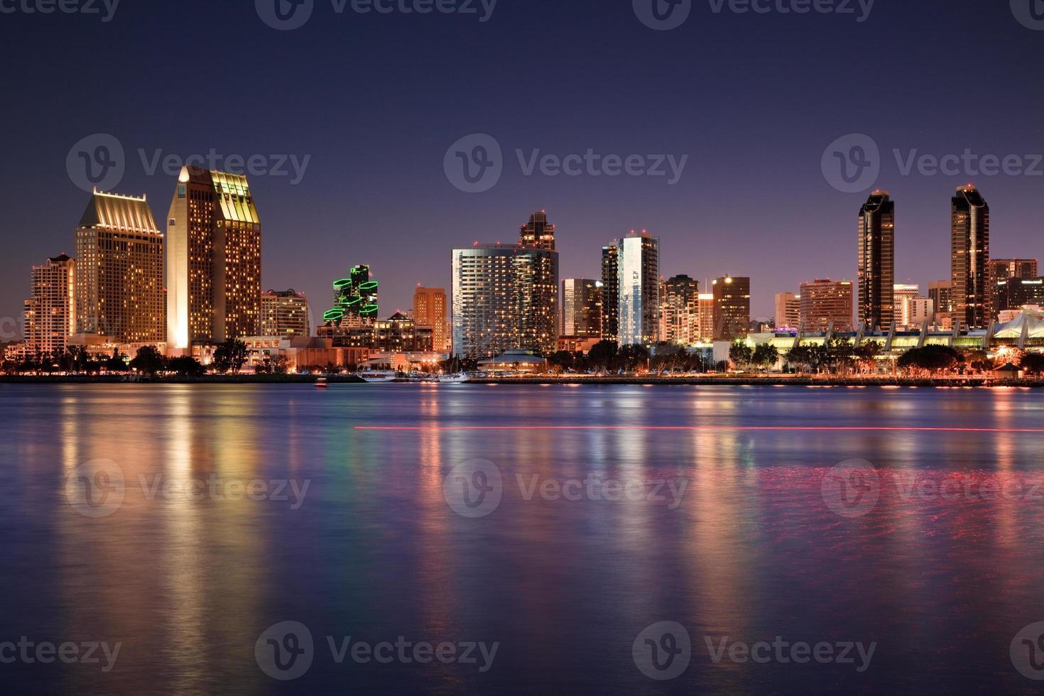 San Diego Skyline at Dusk photo