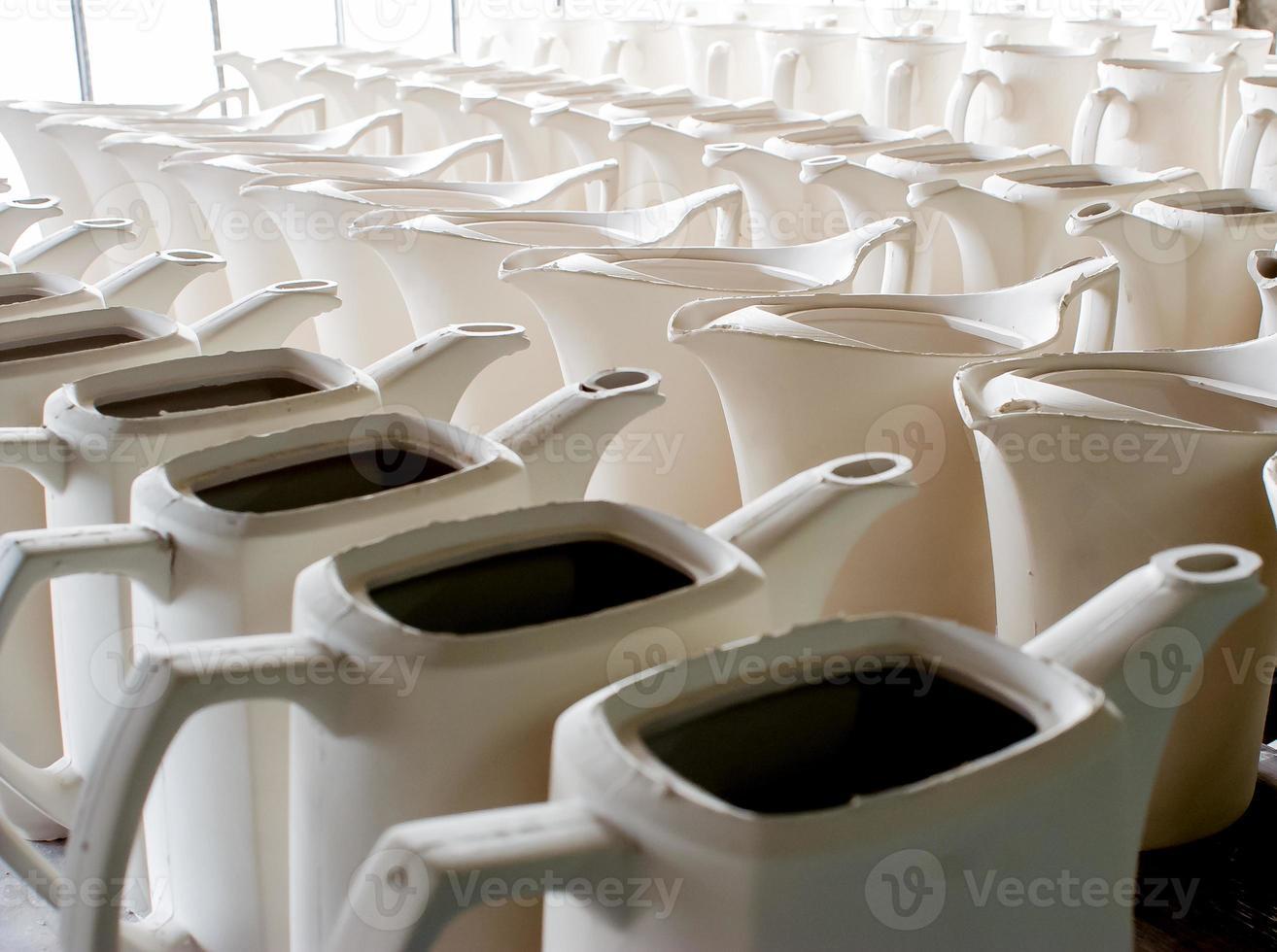 vasijas de porcelana foto
