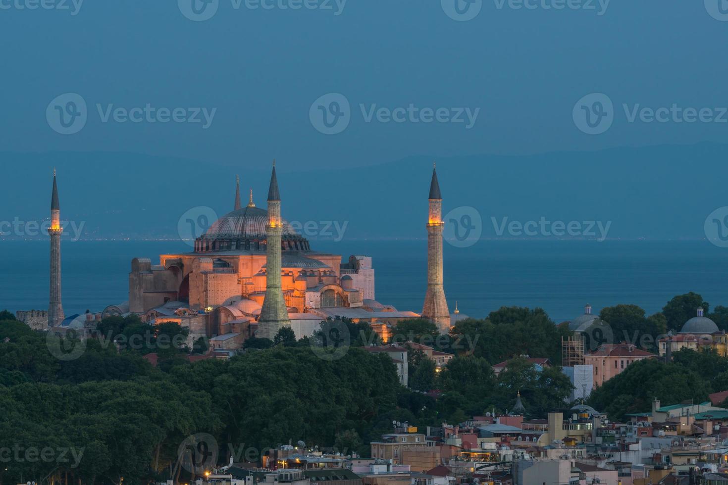 Hagia Sophia at Night photo