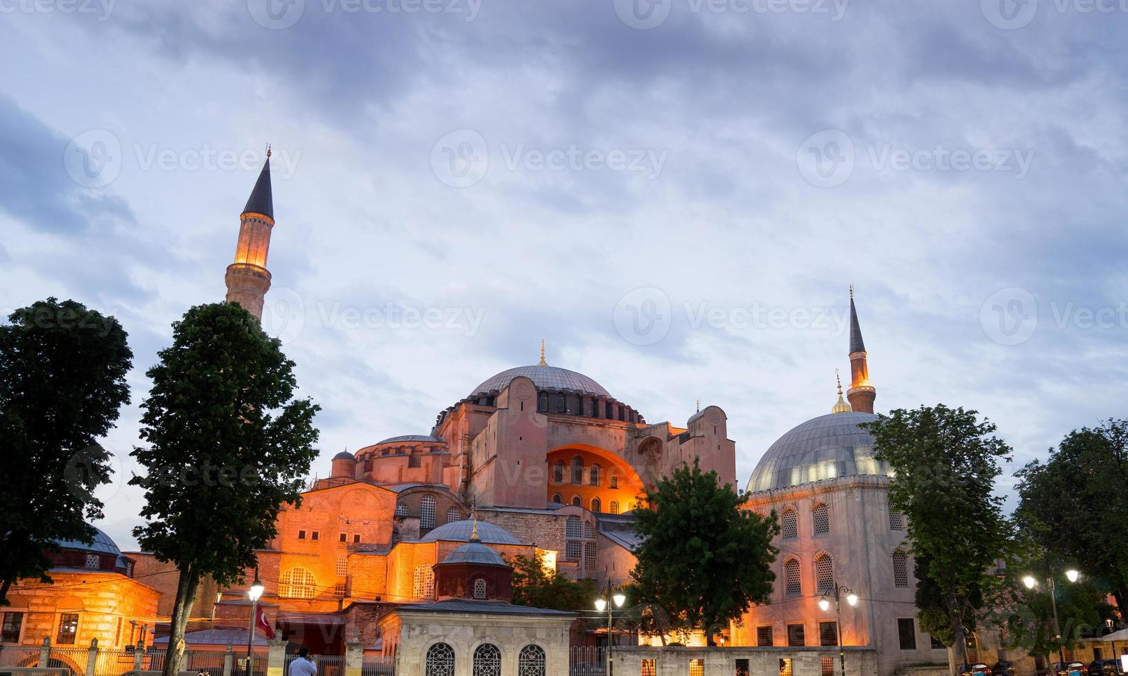 Hagia Sophia, sultan ahmed blue mosque, Istanbul Turkey photo