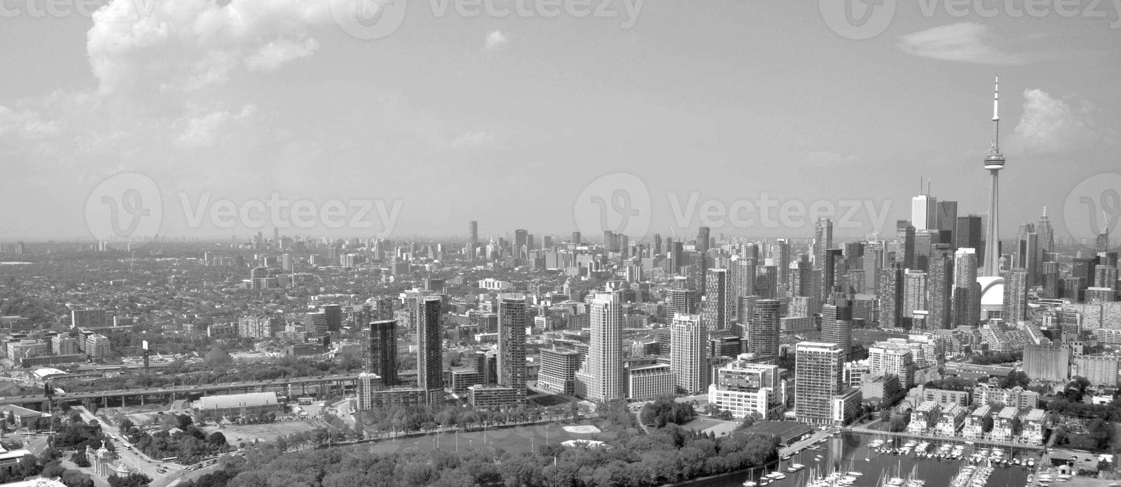 Toronto aerial photo