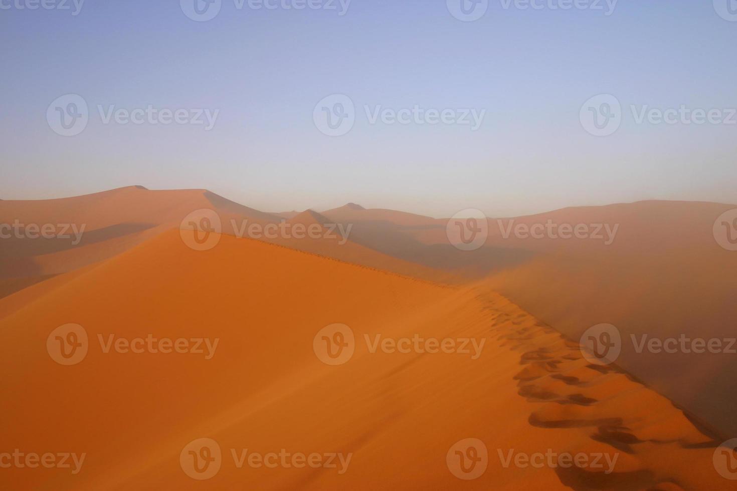 Orange sand photo
