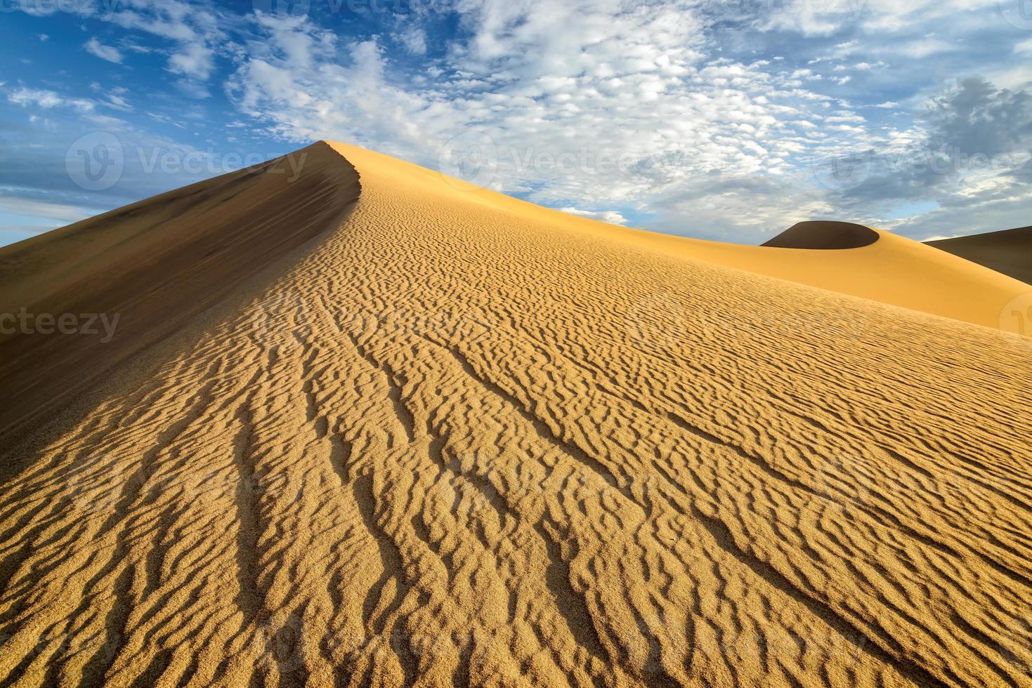Sand Dunes, Desert, Death Valley, photo