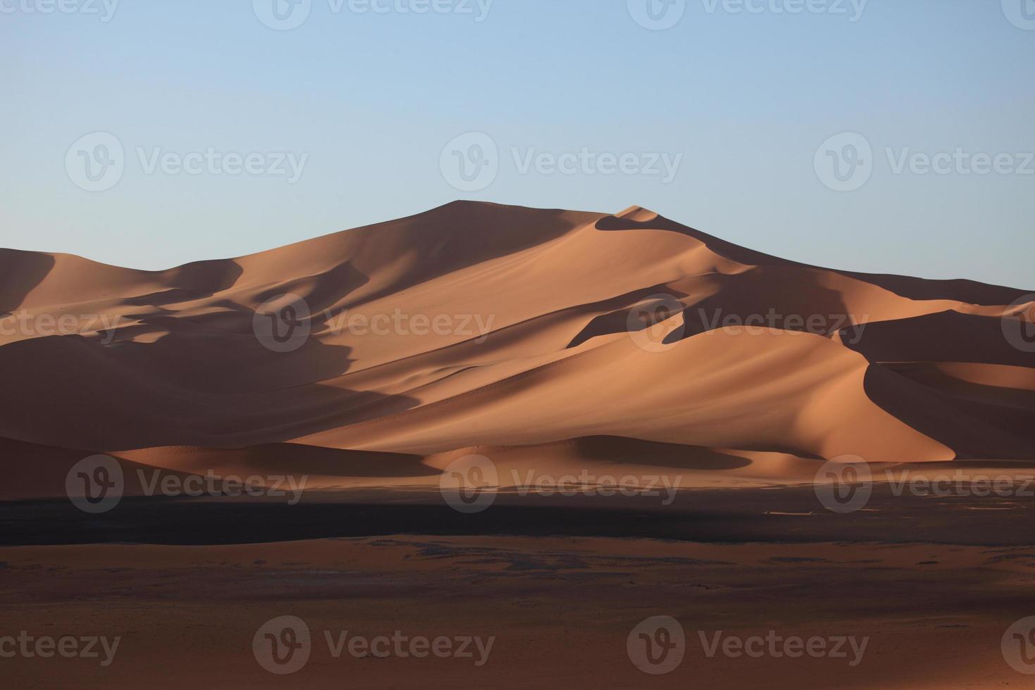die wüste sahara en argelino foto