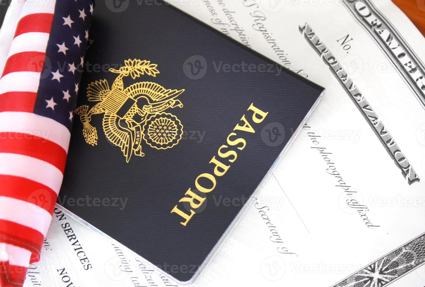 Citizenship documents photo