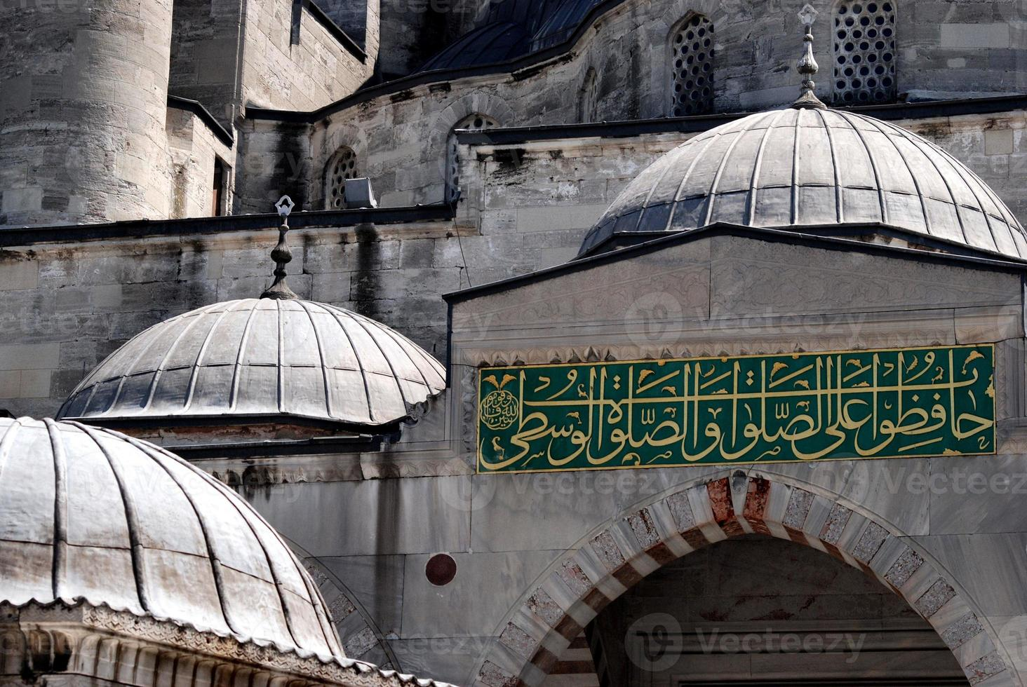 The Blue Mosque in Istanbul, Turkey photo