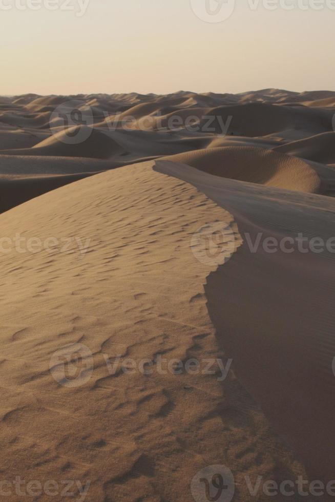 dunas de arena foto