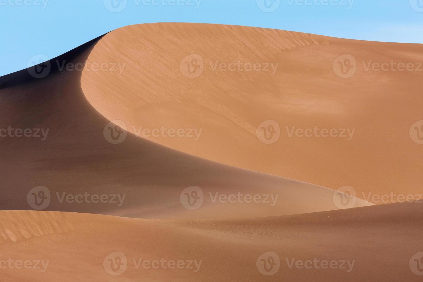 curvas de arena foto