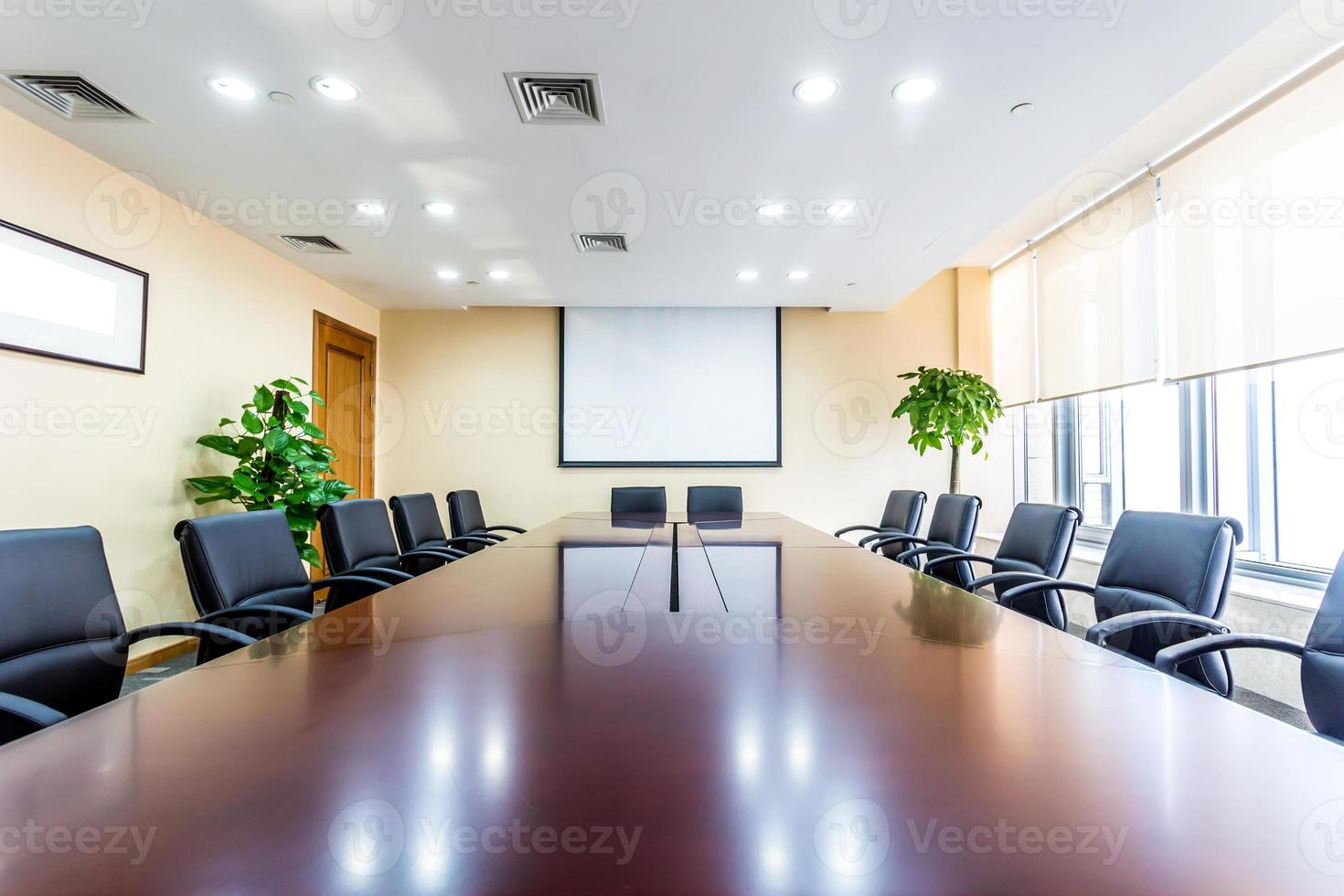 Business meeting room in office photo