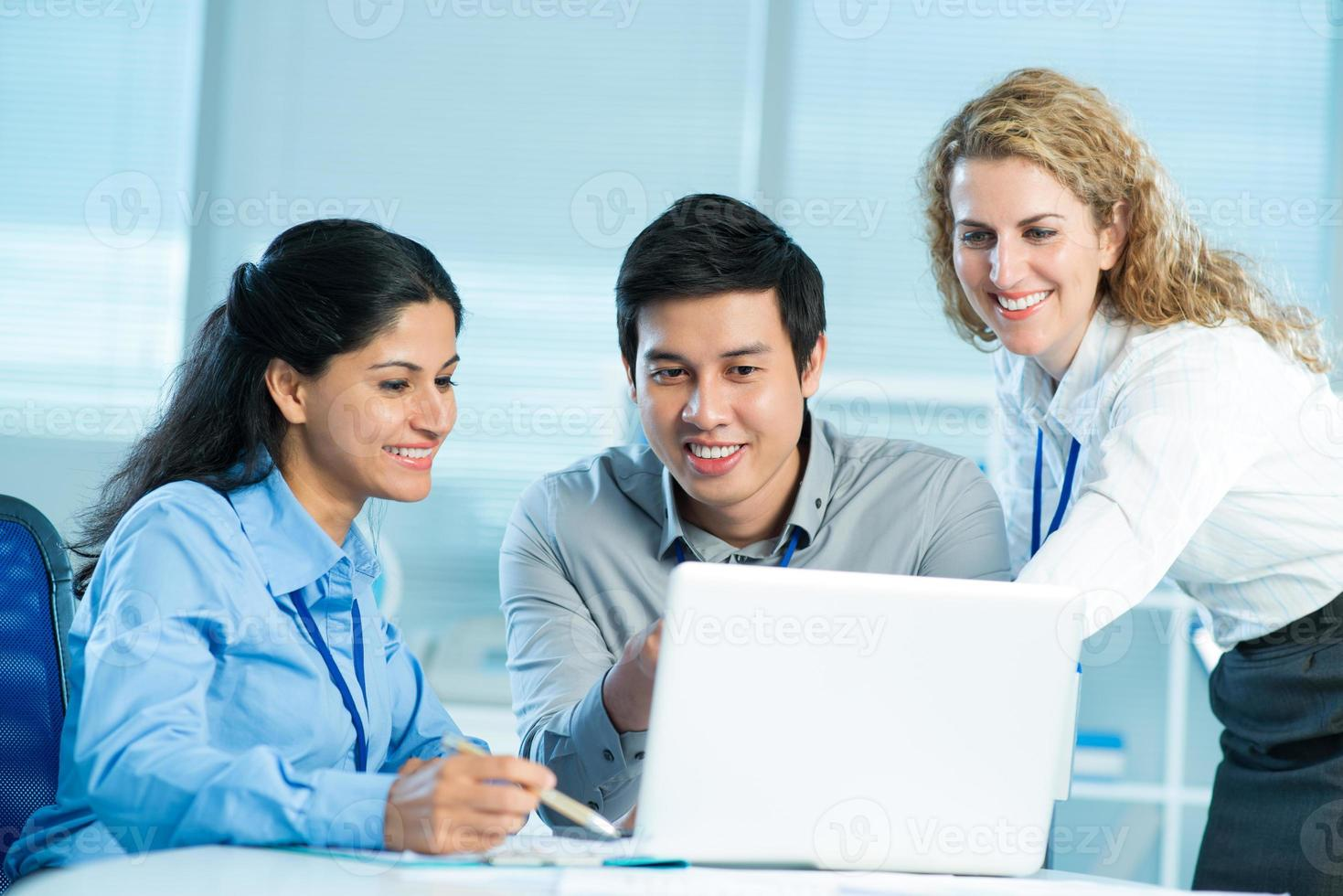 Networking together photo