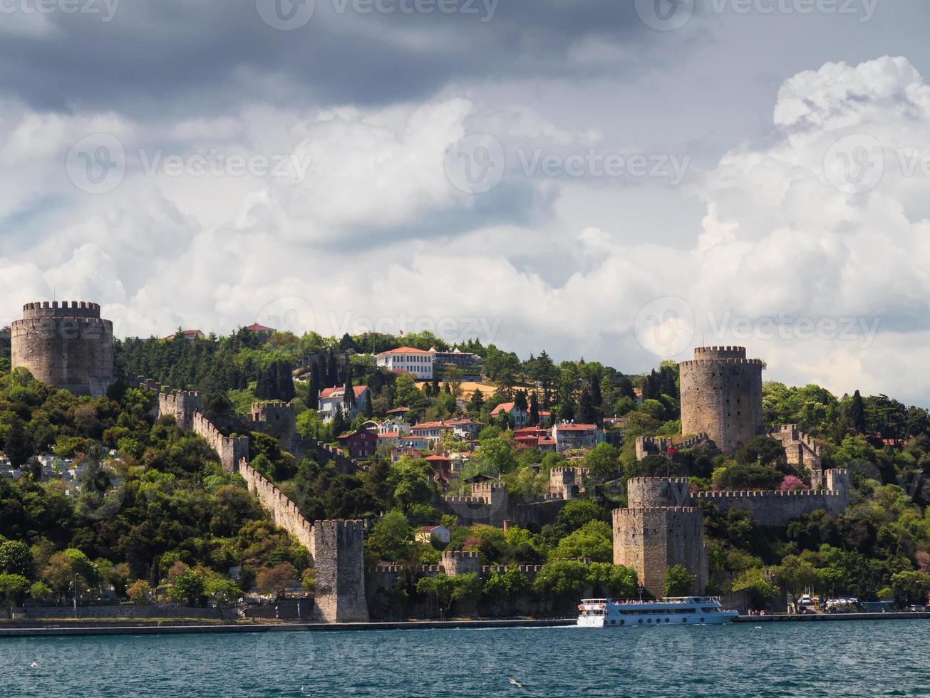 Old fortress Rumelihisar Istanbul, Turkey photo