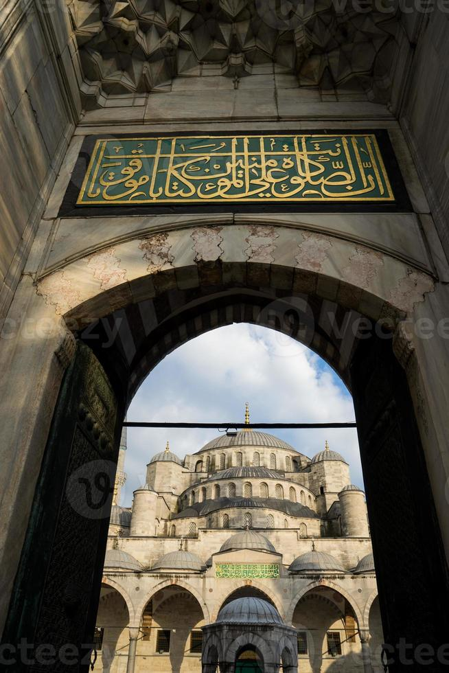 sultan ahmed blue mosque, Istanbul Turkey photo