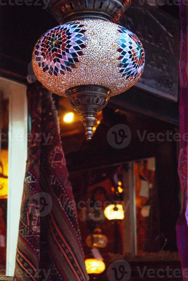 Grand bazaar shops in Turkey photo