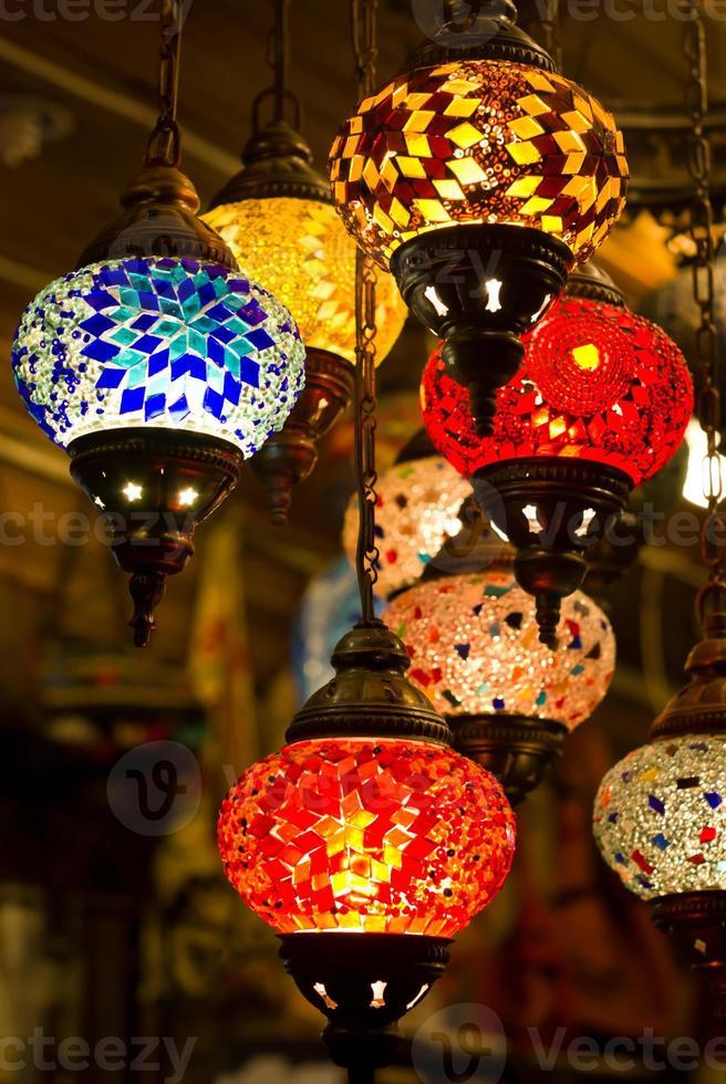 linternas turcas foto
