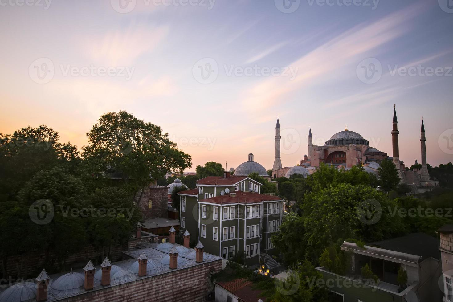 Hagia Sophia Long exposure photo
