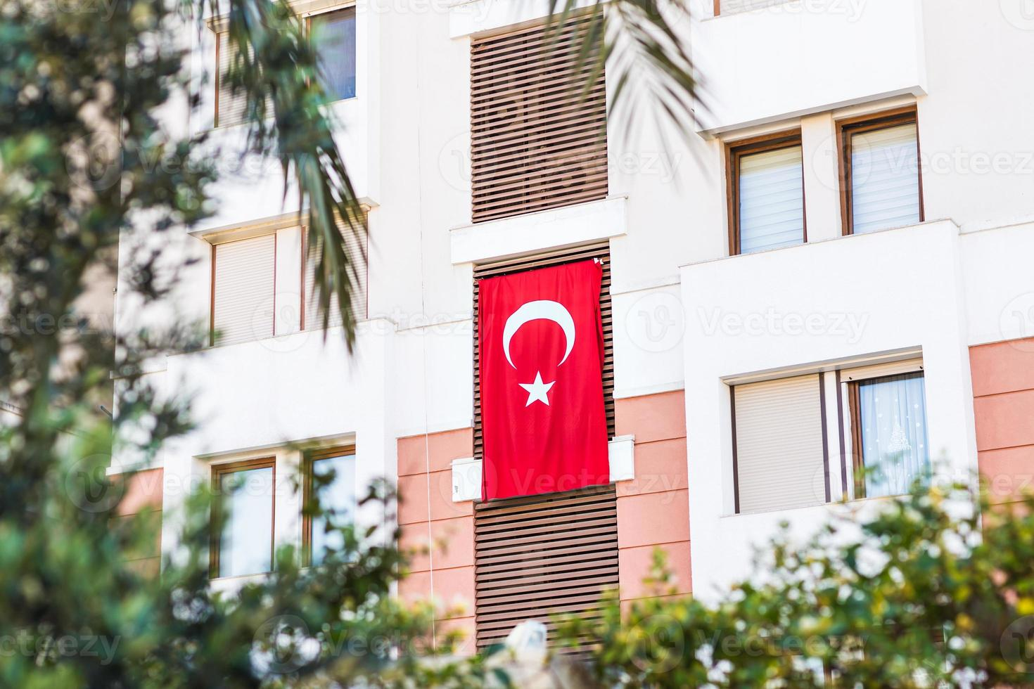flag of Turkey photo