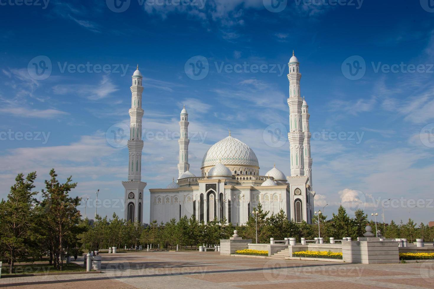 Yeni Cami Mosque  in  Astsana, Kazakhstan photo