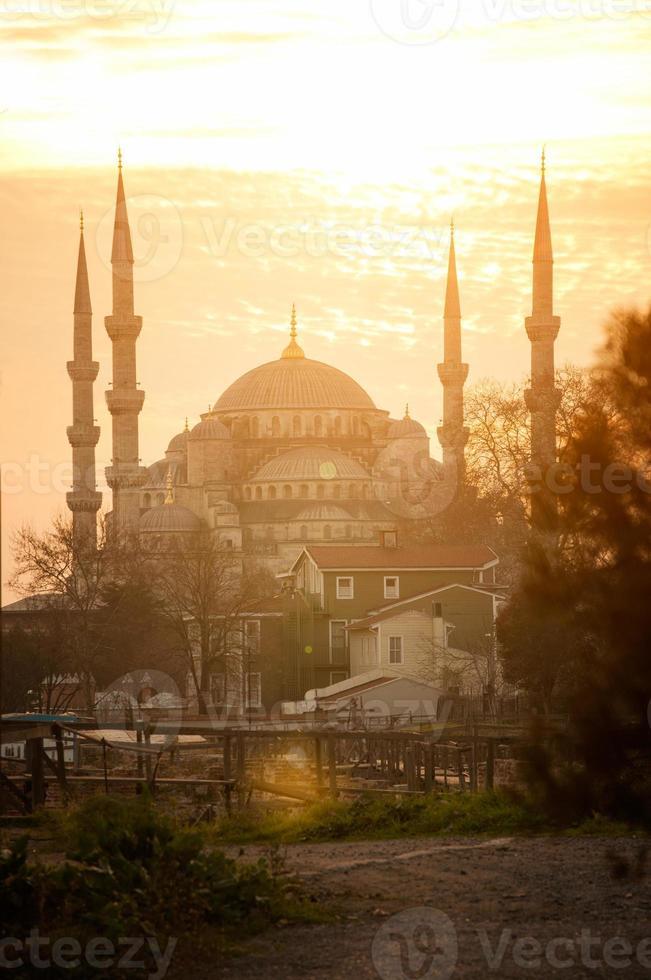 mezquita de sultanahmet foto
