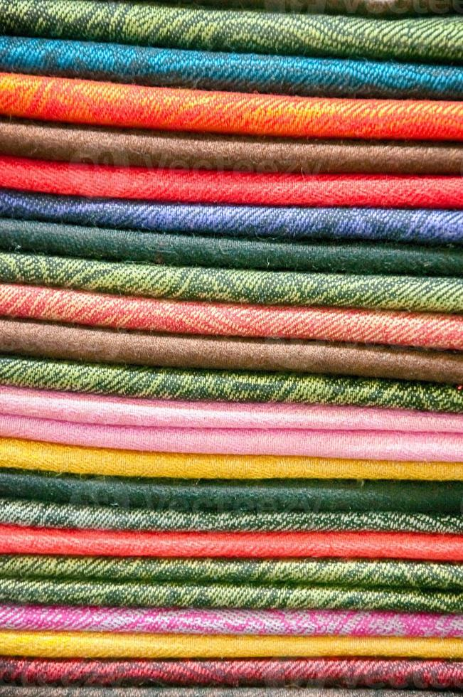 stock of fabric photo