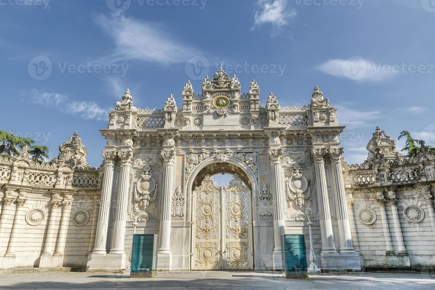 Gate of The Sultan, Dolmabahce Palace, Istanbul, Turkey photo