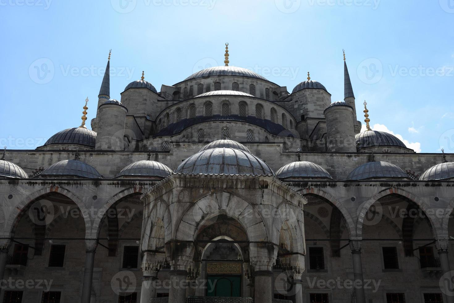 Fragment of Blue Mosque photo