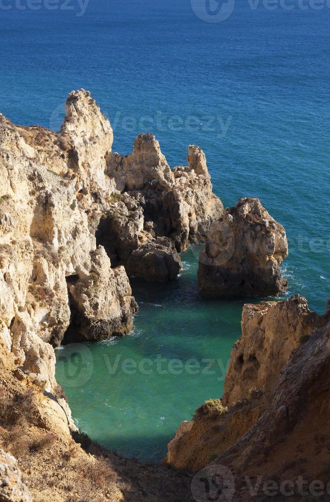 Punta de Piedade in Lagos, Algarve photo