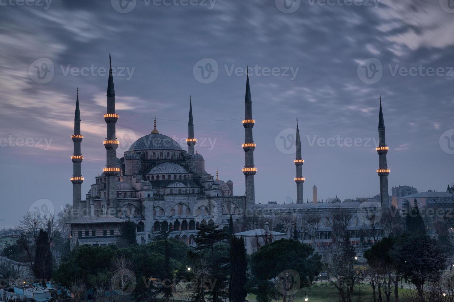 la mezquita azul foto