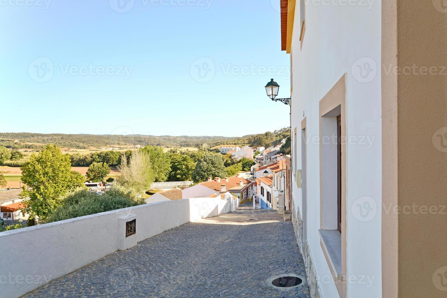 Aljezur, lovely town at the west coast of Algarve, Portugal photo