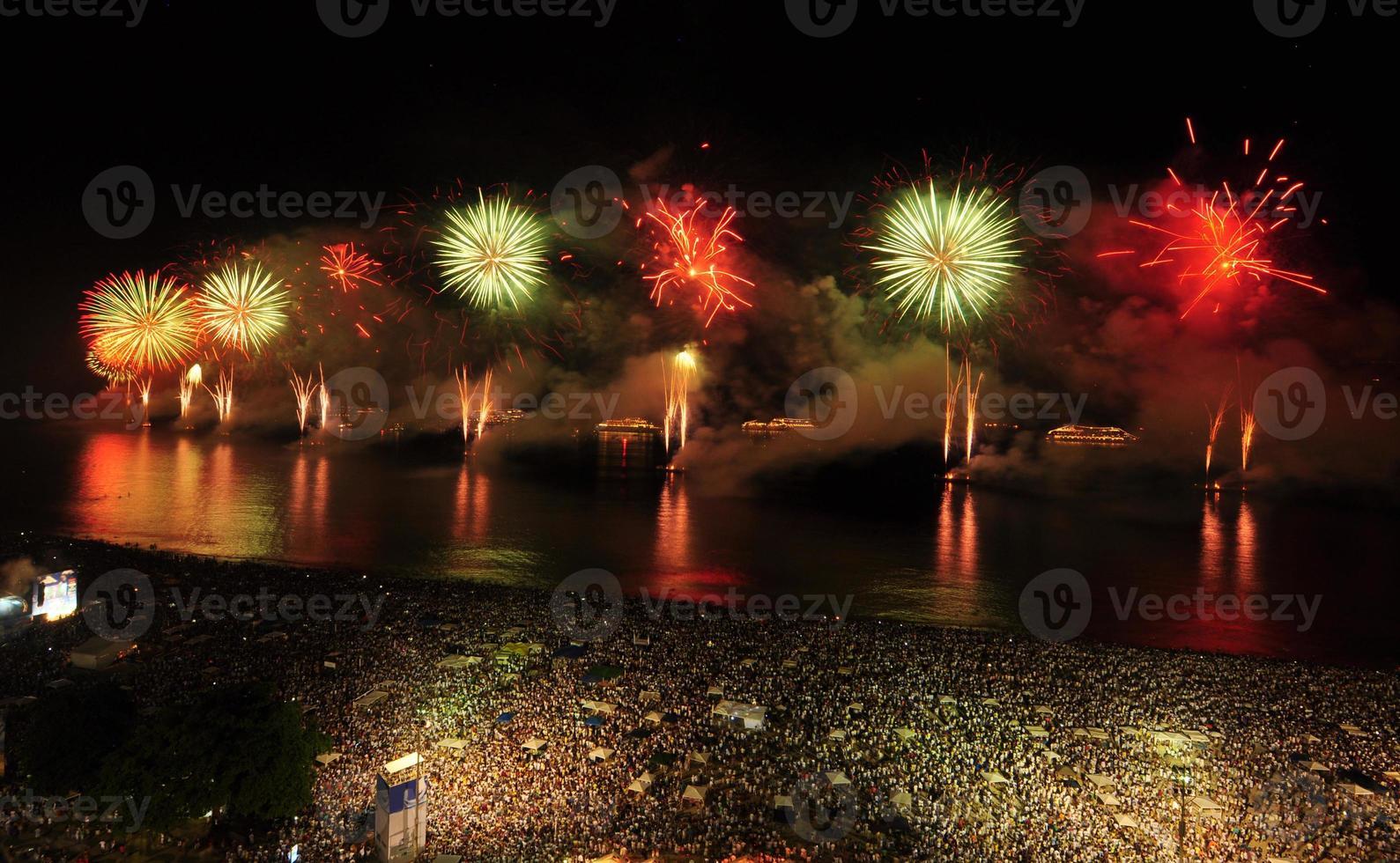 New Year´s Eve Party on Copacabana Beach photo